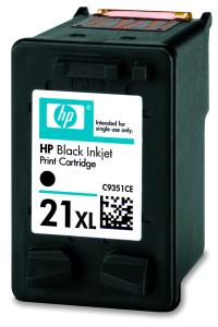 Tisková náplň HP 21XL black | 12 ml