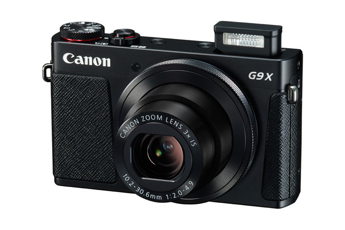 Canon PowerShot G9 X Black - 20MP, 3x zoom, 28-84mm