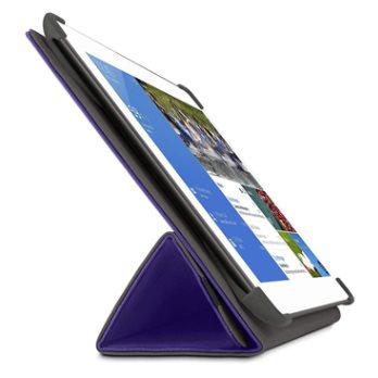 """BELKIN 7"""" Pouzdro/stojánek Tri-Fold pro Samsung Galaxy Tab 4, fialové"""