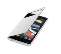 Flip cover pro telefon Acer Z330, bílý