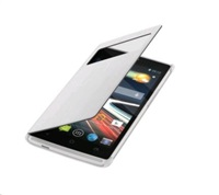 Flip Cover pro telefon Acer Liquid Z330/M330, bílý