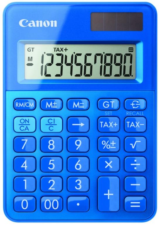 Canon kalkulačka LS-100K-MBL RR Blue