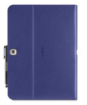 """BELKIN 10,1"""" Pouzdro/stojánek MultiTasker pro Samsung Galaxy Tab 4, fialové"""