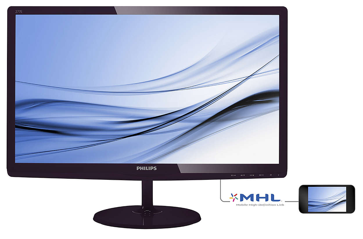 Philips LCD 277E6EDAD/00 27''LED,IPS, 14ms,DC20mil,VGA,DVI,HDMI, repro,1920x1080