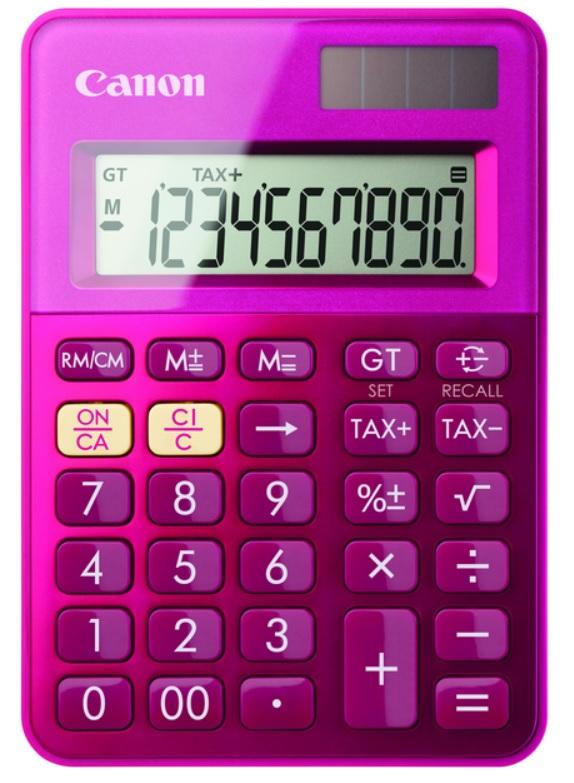 Canon kalkulačka LS-100K-MPK RR Pink