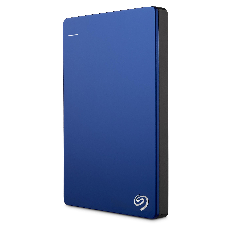 """Seagate Backup Plus, 2TB externí HDD, 2.5"""", USB 3.0, kovový modrý"""