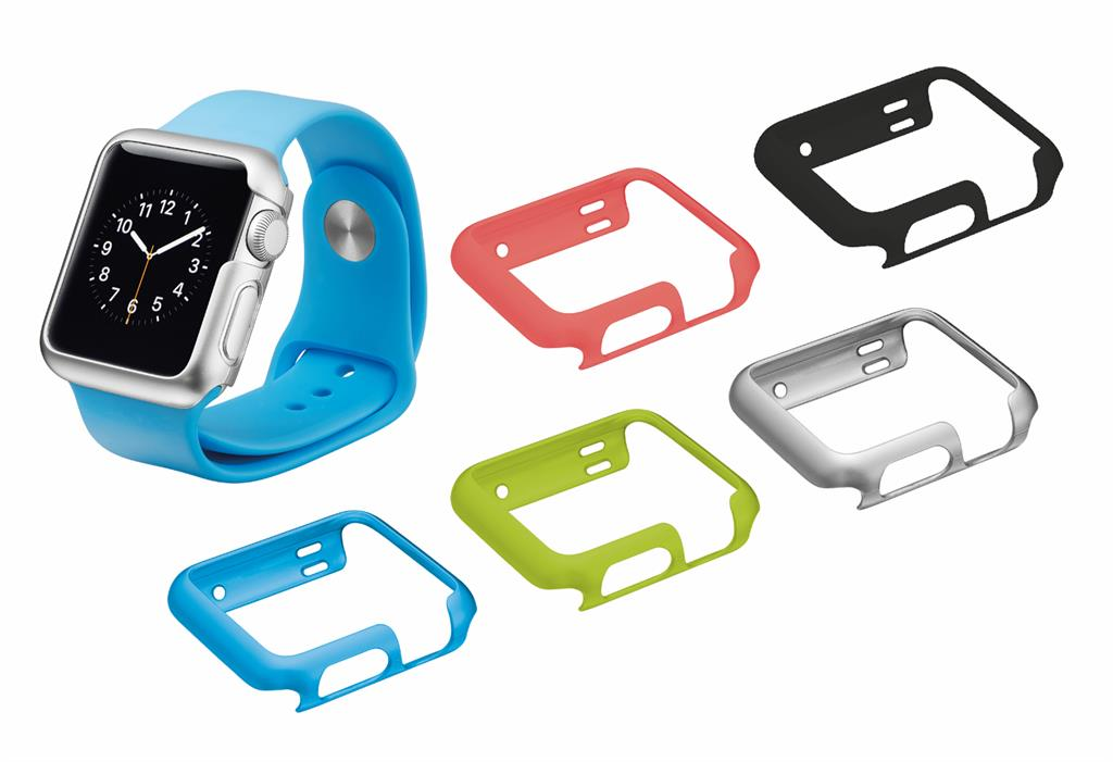 Hard Case for Apple Watch 38mm - set of 5