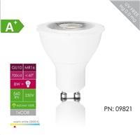 Whitenergy LED žárovka (GU10, 8W, 560 lm, bílá, úhel: 60°)