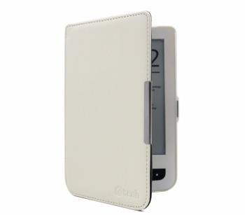 C-TECH pouzdro Pocketbook 614/624/626, HC bílá