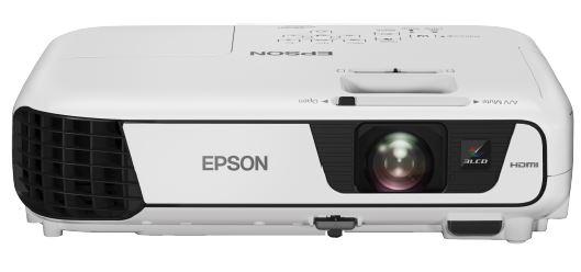 EPSON 3LCD/3chip projektor EB-S31 800x600 SVGA/3200 ANSI/15000:1/HDMI/2W Repro/optionWiFi/(EBS31)