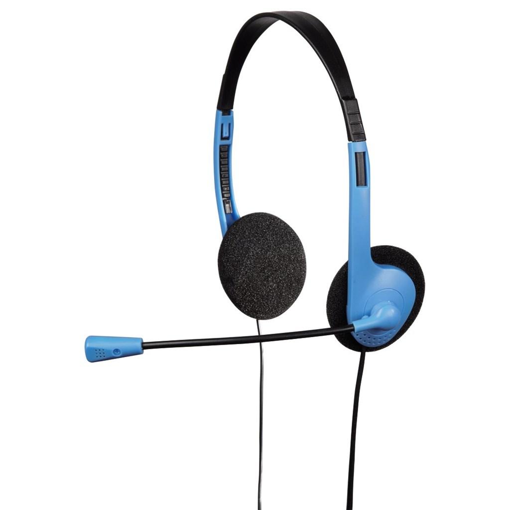 Hama PC Headset HS-101, černá/modrá