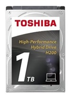 "TOSHIBA HDD H200 1TB/8GB SSD, SATA III, 5400 rpm, 64MB cache, 2,5"", 9,5 mm"