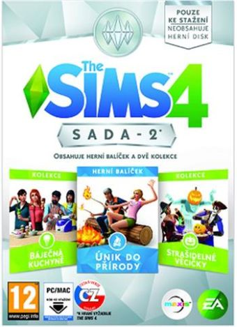 THE SIMS 4 BUNDLE PACK 2 (BP2) CZ/SK PC