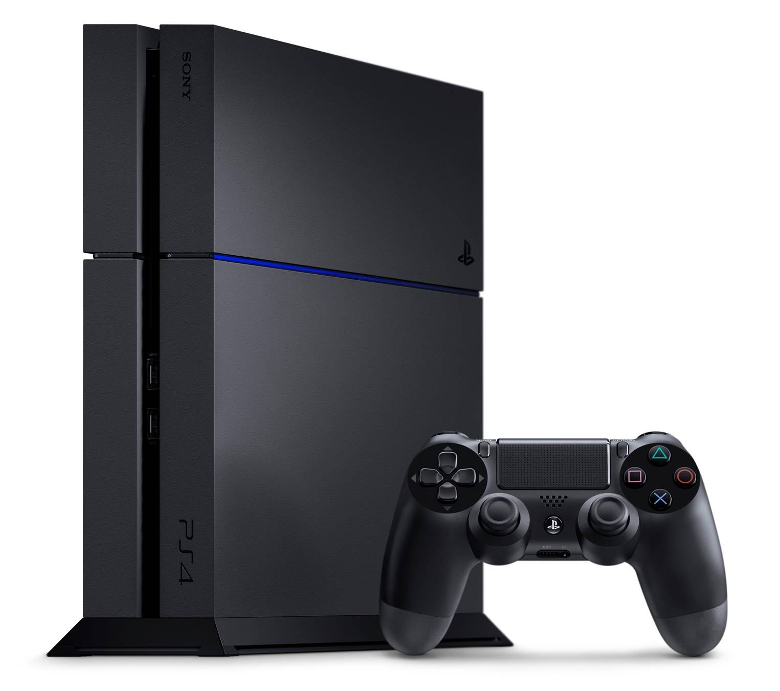 PS4 - PlayStation 4 1TB CUH-1216 Jet Black
