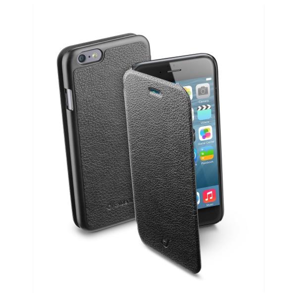 Pouzdro CellularLine Book iPhone 6, černé