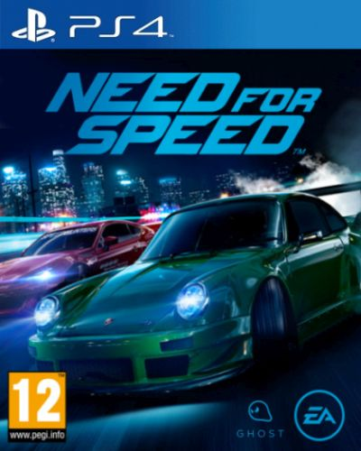 NEED FOR SPEED (2015) PS4 CZ/SK/HU/RO
