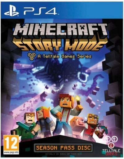 Telltale Games PS4 hra Minecraft: Story Mode