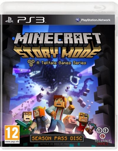 Telltale Games PS3 hra Minecraft: Story Mode