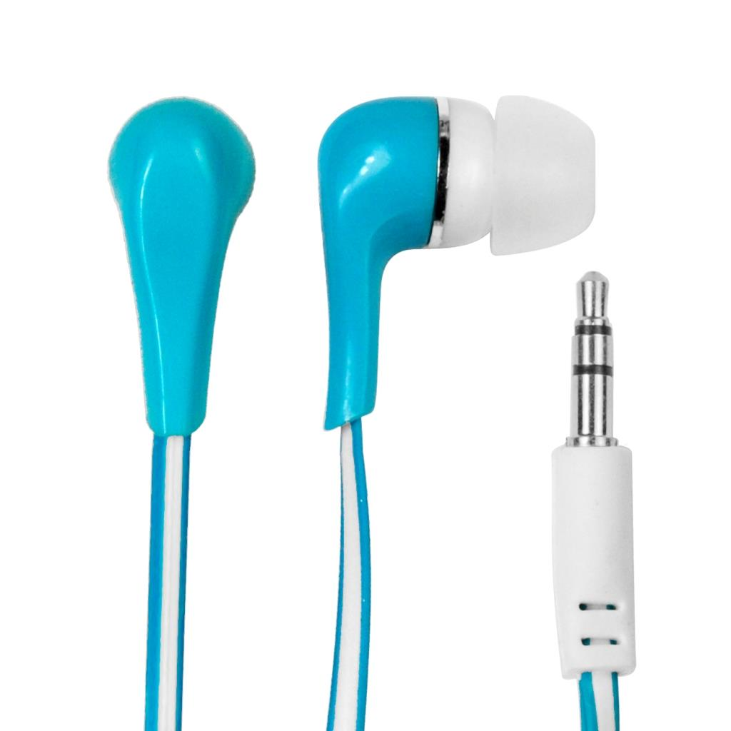 MSONIC Stereofonní sluchátka do uší, silikonová MH132EB modrá