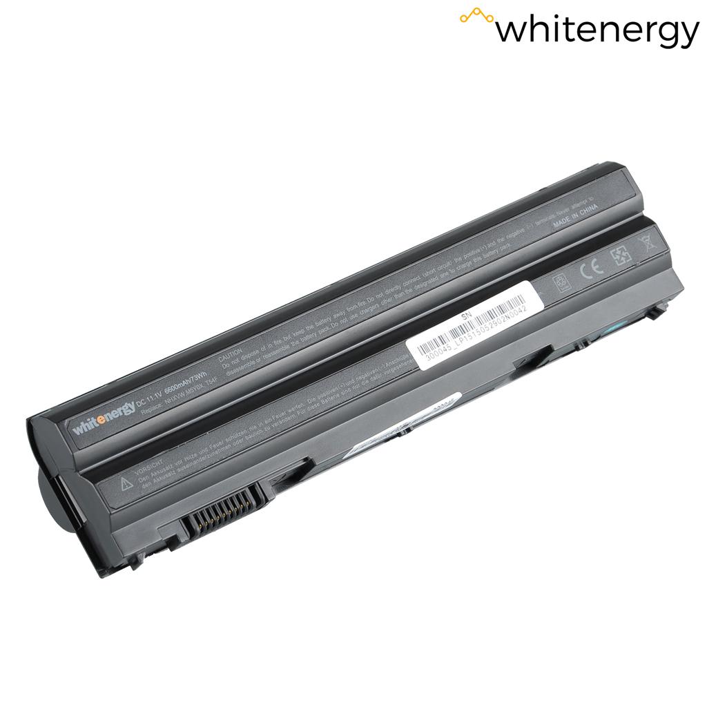 WE baterie Dell Latitude E6520 11.1V 6600mAh černá