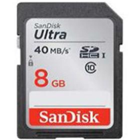 124056 SDHC 8GB 40M UHS-I ULTRA SANDISK