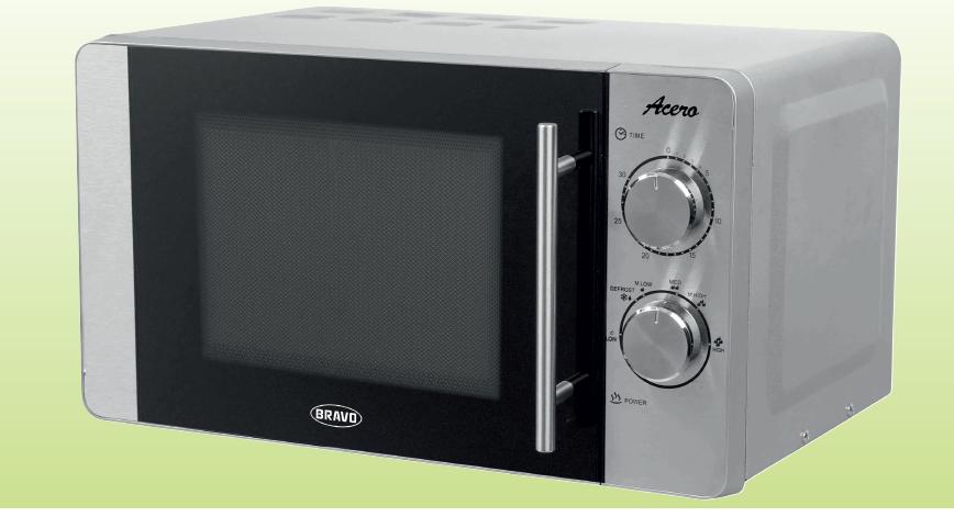 Mikrovlná trouba Acero B- 4503 nerez