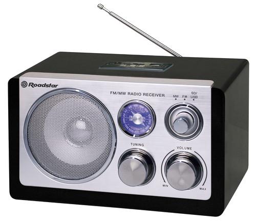 HRA-1325US/BK Stolní radiopřij. AM/FM
