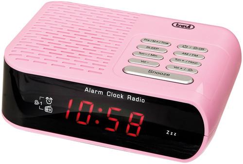 RC 827D/Růžový Radiobudík PLL tuner FM/A
