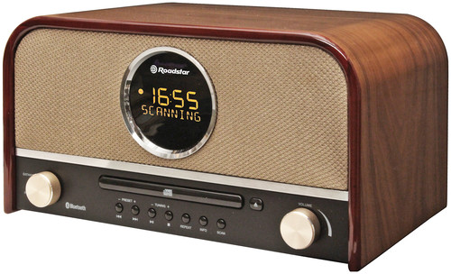 HRA-1750BT radio retro DAB+,RDS,