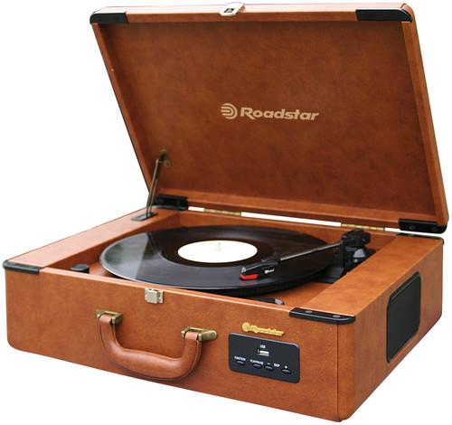 TTR-730U Retro kufříkový gramofon, USB