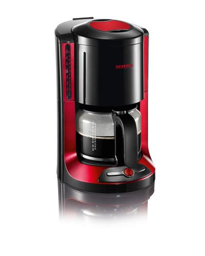KA 4177 kávovar SELECT černo-červený