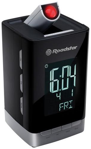 CLR-2496P Radiobudík s projekcí času