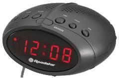 CLR-2466/BK Radiobudík, MW/FM,SLEEP,9V