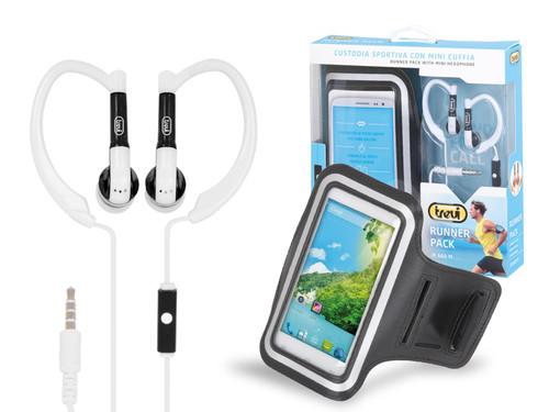 JR 660M/WH Běžecký set na mobil,sluchátk