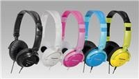 Panasonic stereo sluchátka RP-DJS200E-P, 3,5 mm jack, růžová