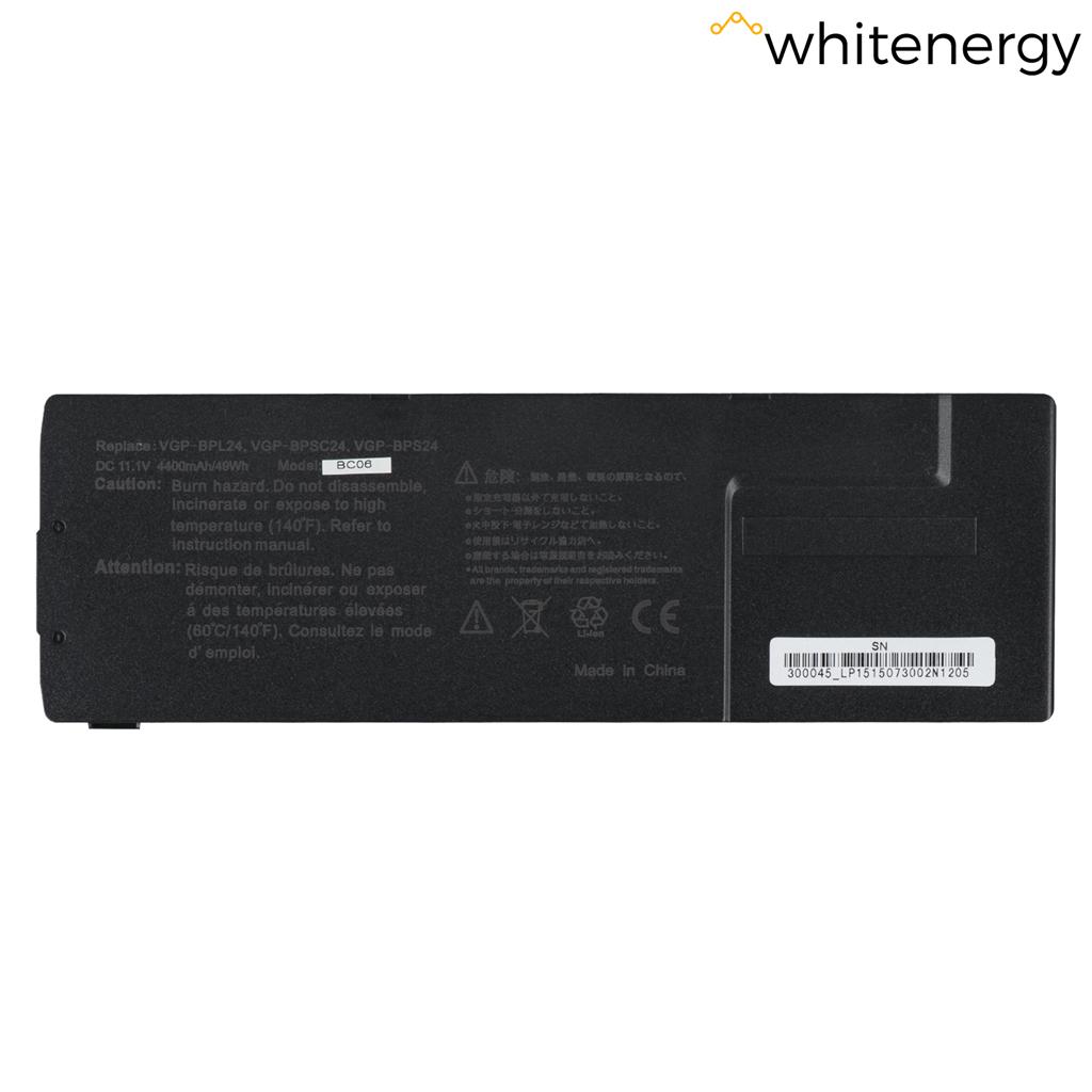 WE baterie Sony VGP-BPS24 11.1V 4400mAh Black