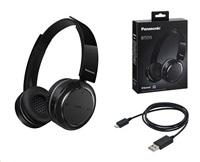 Panasonic Bluetooth stereo sluchátka RP-BTD5E-K, černá