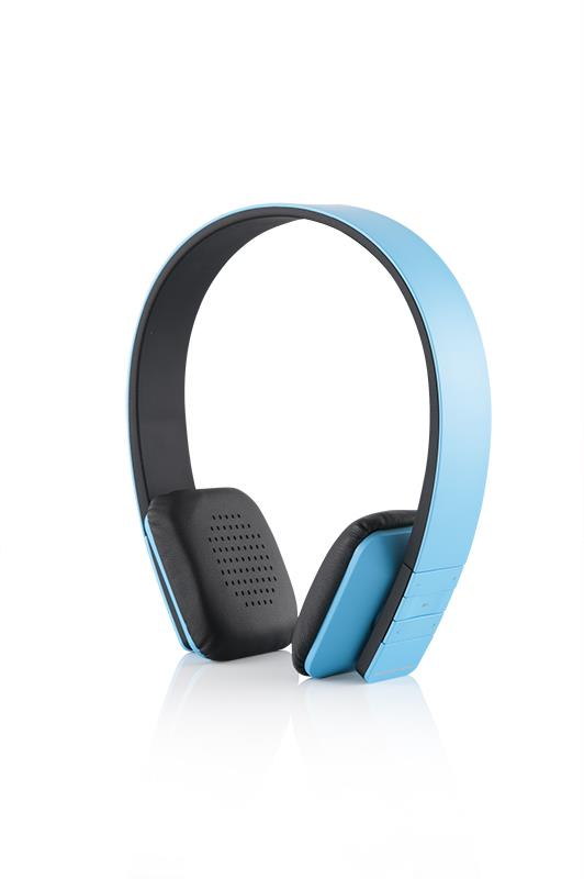 Modecom sluchátka MC-350B CURE Blue Bluetooth