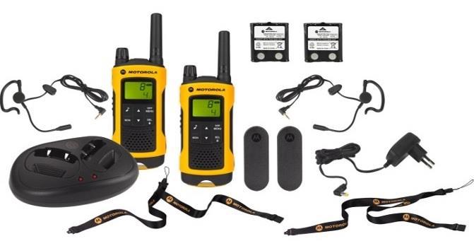 Motorola TLKR T80 EXTREME vysílačka - 10 km, 8 kanálů