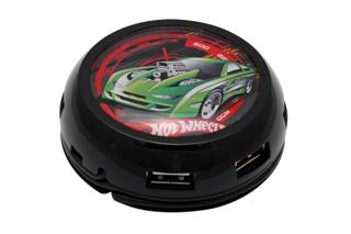 USB hub MODECOM UFO, 7x USB TURBO7HUB - HOT WHEELS