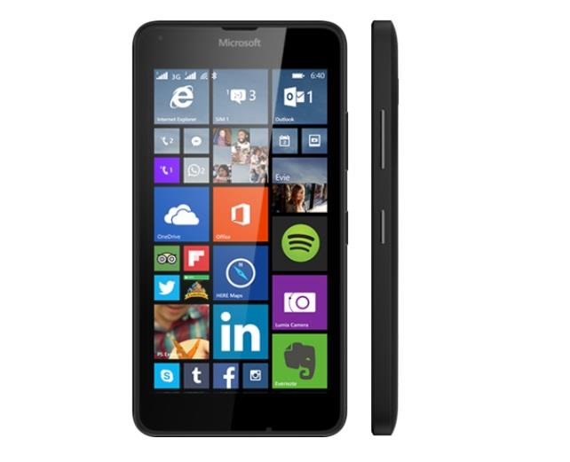 Microsoft Lumia 640 Black Dual Sim
