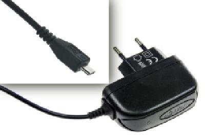 Aligator nabíječka microUSB 5V 1A černá