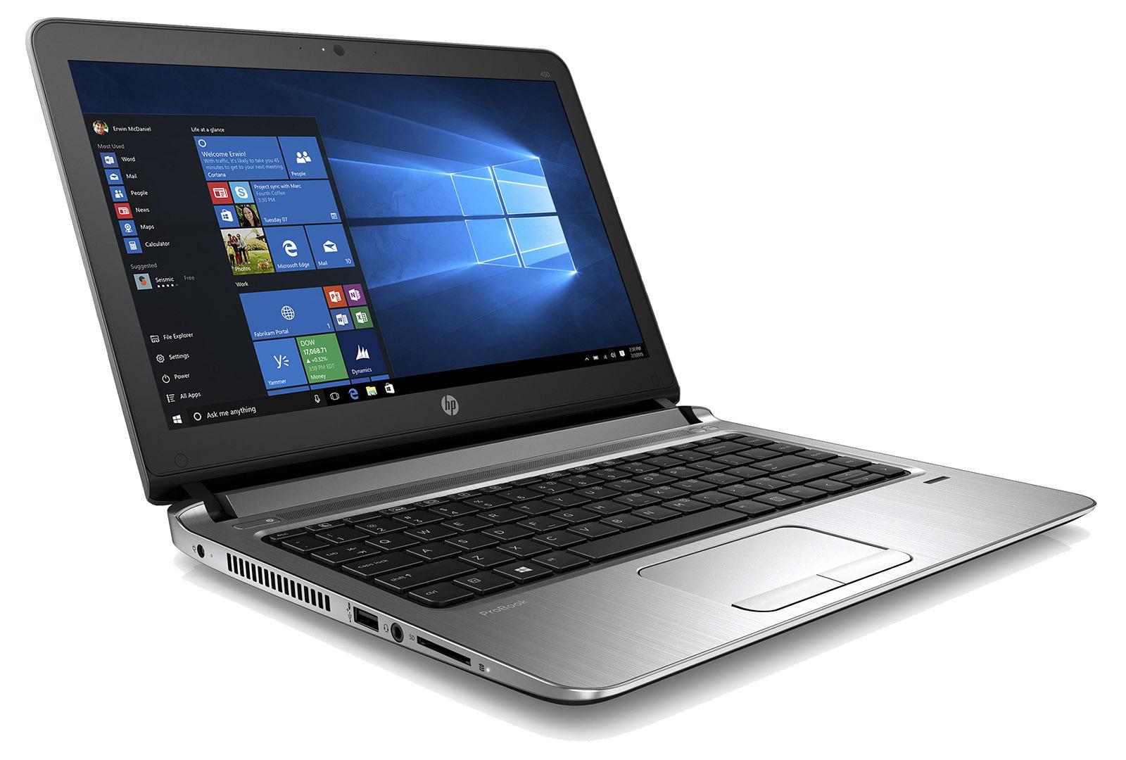 HP ProBook 430 G3 i3-6100U 13.3 HD 4GB 256SSD+volny DVD backlitKB FP W7P+W10P