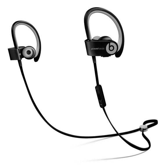 Apple Beats by Dr. Dre Powerbeats 2 Wireless In-Ear Headphones Active Collection - Black Sport
