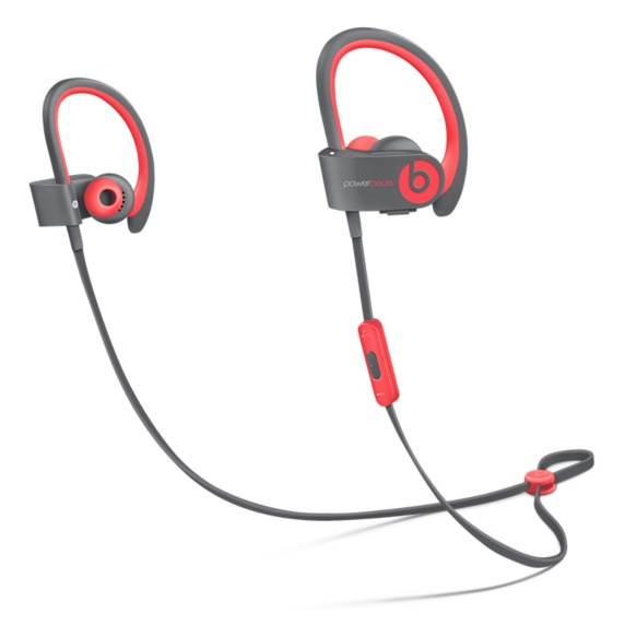 Apple Beats by Dr. Dre Powerbeats 2 Wireless In-Ear Headphones Active Collection - Red