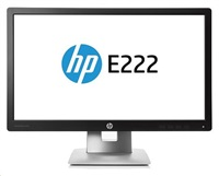 HP EliteDisplay E222 / 21,5'' IPS/ 1920x1080 / 1000:1/ 7ms/ 250cd/ VGA, Dp, HDMI, USB / 3/3/0