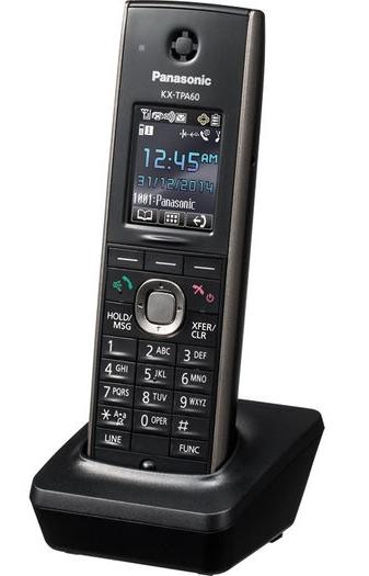 Panasonic KX-TPA60CEB, přenosné přídavné sluchátko pro TGP600