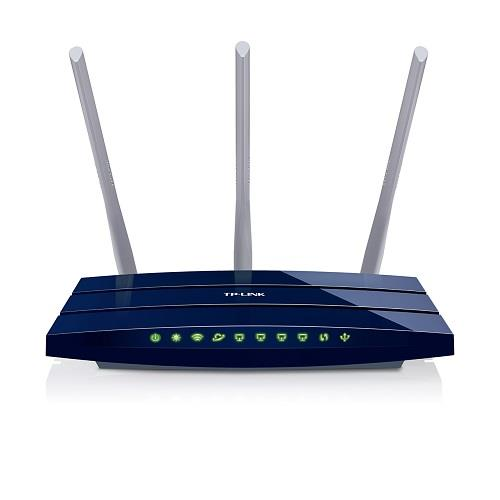 TP-Link TL-WR1043ND Wireless 802.11n/450Mbps 3T3R router 4xGigabit, 1xWAN, 1xUSB