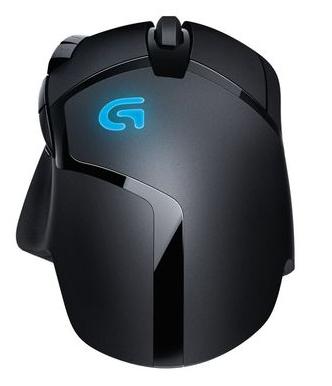 Logitech myš Gaming G402 Hyperion Fury, laserová, 8 tlačítek, černá