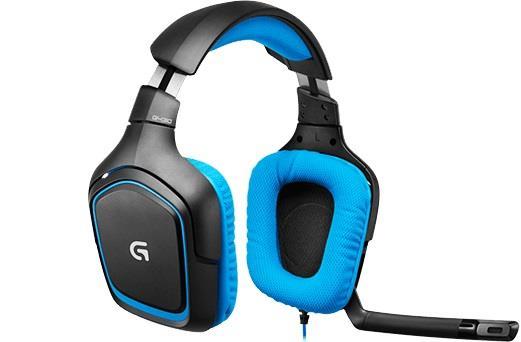 Logitech Gaming Headset G430, blue, 7.1surround sound